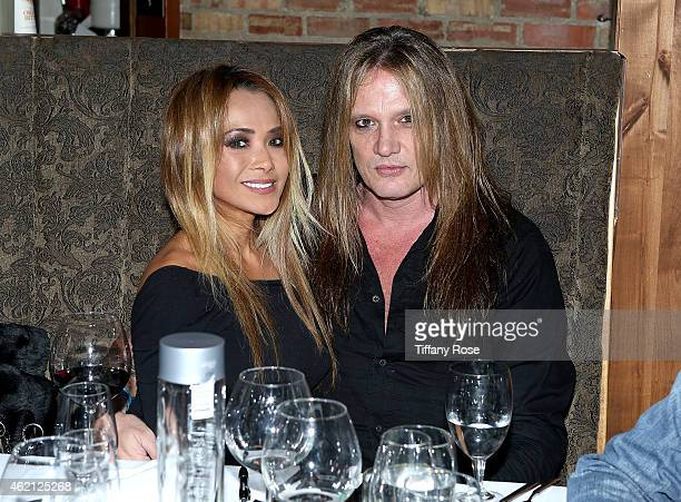 Suzanne Le and Sebastian Bach attend ChefDance 2015 Presented By Victory Ranch And Sponsored By Merrill Lynch Freixenet And Anchor Distilling at...