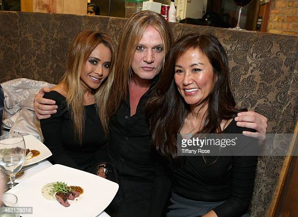 Suzanne Le Sebastian Bach and Mimi Kim attend ChefDance 2015 Presented By Victory Ranch And Sponsored By Merrill Lynch Freixenet And Anchor...