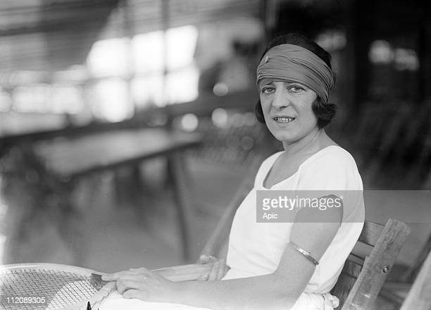 Suzanne Lenglen french tennis player, c. 1920.