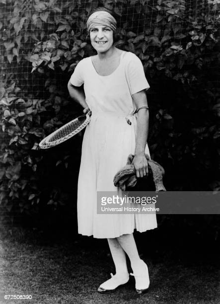 Suzanne Lenglen, French Tennis Player, Portrait, Bain News Service, 1921.