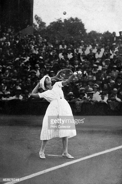 Suzanne Lenglen winning her first championship at Wimbledon . Suzanne Rachel Flore Lenglen was the first female tennis celebrity.