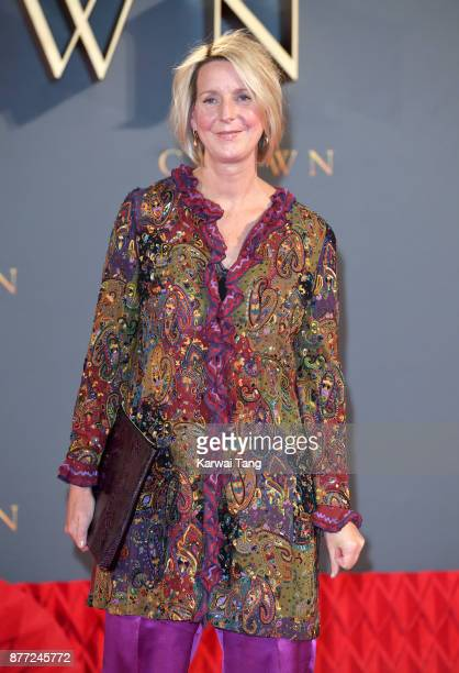 Suzanne Mackie attends the World Premiere of Netflix's 'The Crown' Season 2 at Odeon Leicester Square on November 21 2017 in London England
