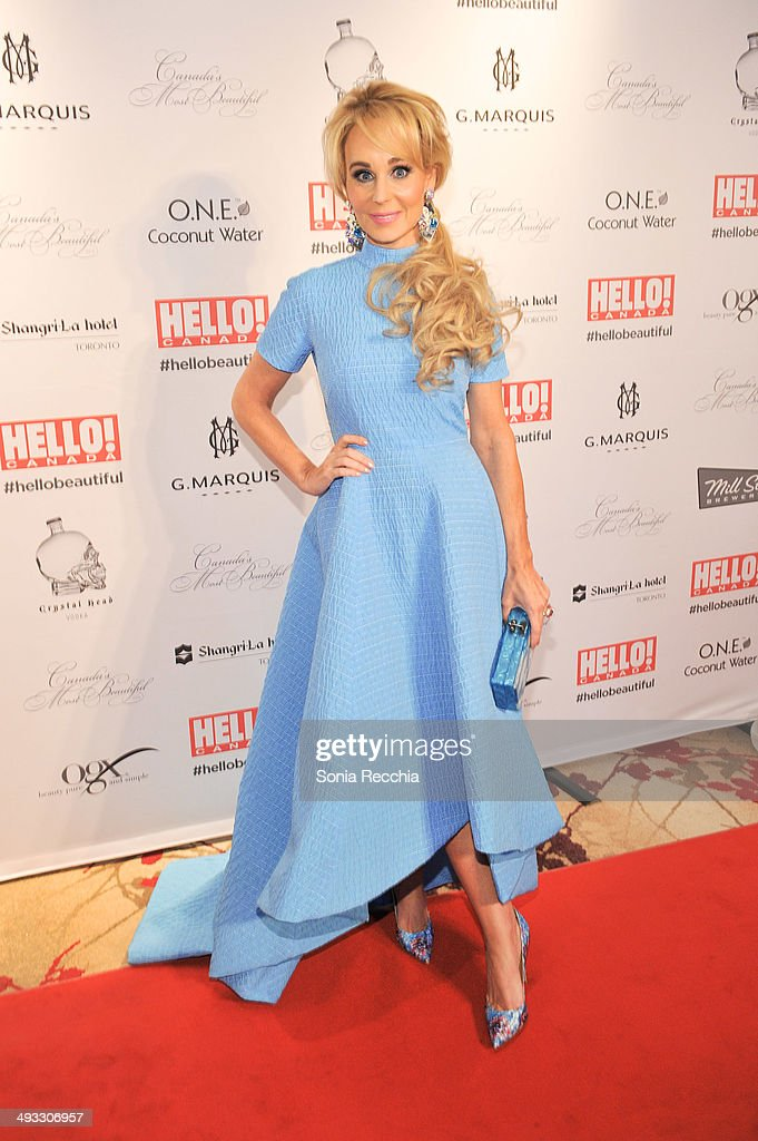 Suzanne Rogers attends HELLO! Canada Gala Celebrates Canada's Most Beautiful Gala at Shangri-La Hotel on May 22, 2014 in Toronto, Canada.