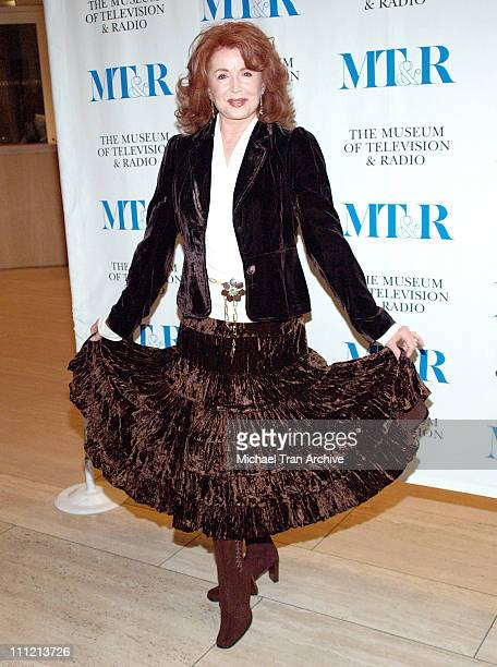 Suzanne Rogers during Forty Years of Days of Our Lives Arrivals at Museum of Television and Radio in Beverly Hills California United States