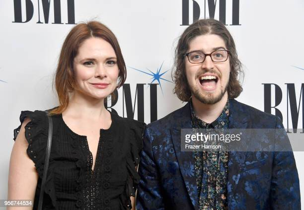 Suzanne Santo and Benjamin Jaffe attend 34th Annual BMI Film TV Visual Media Awards attends at Regent Beverly Wilshire Hotel on May 9 2018 in Beverly...