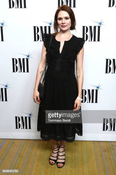 Suzanne Santo attends the 34th Annual BMI Film TV And Visual Media Awards at the Beverly Wilshire Four Seasons Hotel on May 9 2018 in Beverly Hills...