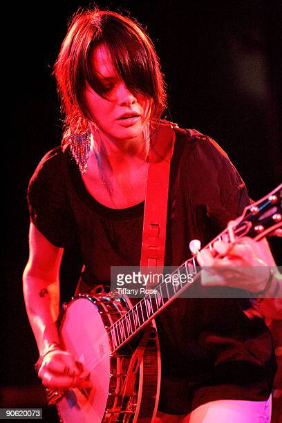 Suzanne Santo of HoneyHoney performs at The Roxy Theatre during Day 2 of the 2nd Annual Sunset Strip Music Festival on September 11 2009 in Los...