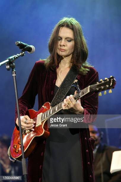 Suzanne Santo performs onstage at The 2020 NAMM Show – 35th Annual NAMM TEC Awards on January 18 2020 in Anaheim California