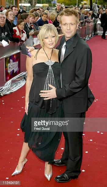 Suzanne Shaw and Darren Day during 2004 Celebrity Awards at London Television Centre in London England Great Britain