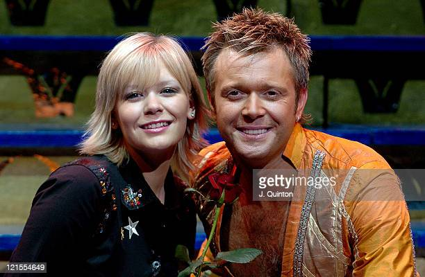Suzanne Shaw and Darren Day during Suzanne Shaw and Darren Day Star in 'Joseph and the Amazing Technicolor Dreamcoat' Photocall at New London Theatre...