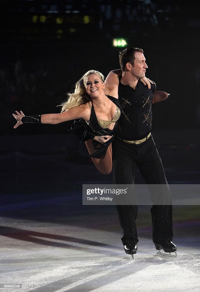 Torvill and Dean's Dancing On Ice The Bolero 25th Anniversary Tour : News Photo