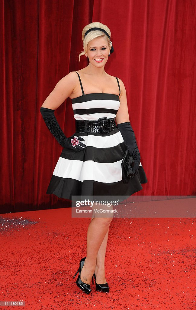 Suzanne Shaw attends 'The British Soap Awards' at Granada Television Studios on May 14, 2011 in Manchester, England.
