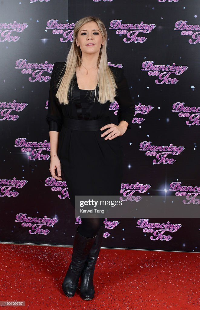 Suzanne Shaw attends the series launch photocall for 'Dancing on Ice' held at the London Studios on January 2, 2014 in London, England.