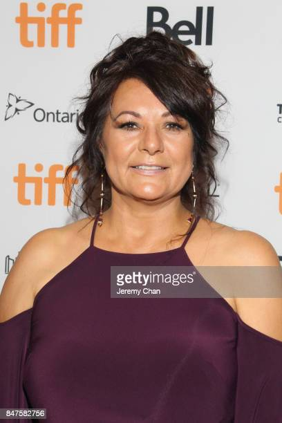 Suzanne Shawbonquit attends the 'Indian Horse' premiere during the 2017 Toronto International Film Festival at TIFF Bell Lightbox on September 15...