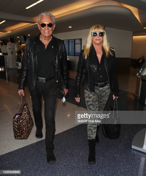 Suzanne Somers and Alan Hamel are seen on October 29 2018 in Los Angeles CA