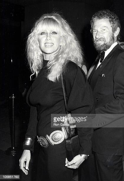 Suzanne Somers and Alan Hamel during Barbara Mandrell Post Concert Party at Sheraton Hotel in Los Angeles California United States