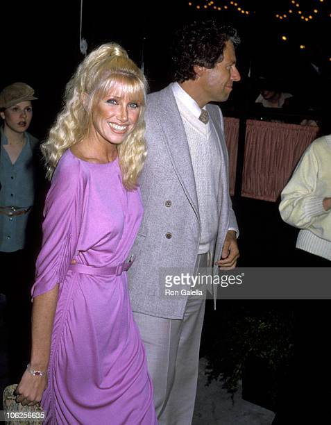 Suzanne Somers and Alan Hamel during People Magazine's 5th Anniversary Party at Gingerman Restaurant in Los Angeles California United States