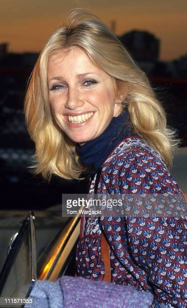 Suzanne Somers at CBS Studios Hollywood during Suzanne Somers Sighting at CBS Studios Hollywood January 5th 1978 in Los Angeles California United...