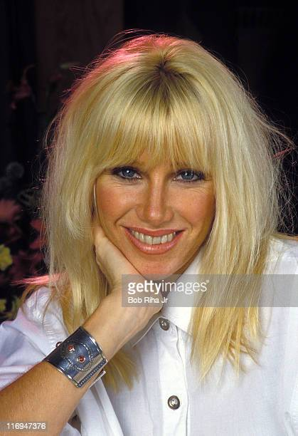 Suzanne Somers at home during Suzanne Somers Circa 1980 Portrait Shoot at Private Residence in Los Angeles California United States