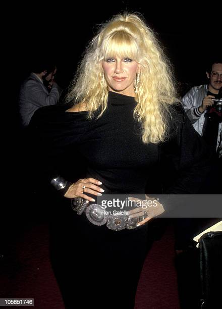 Suzanne Somers during Barbara Mandrell Post Concert Party at Sheraton Hotel in Los Angeles California United States