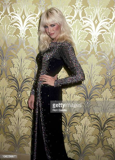 Suzanne Somers during 'Dinner with Tiffany's' Lennox Hill Hospital Benefit November 15 1982 at Waldorf Astoria Hotel in New York City New York United...