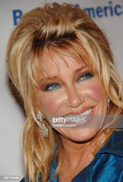 Suzanne Somers during Second Annual Quill Awards Gala Arrivals at Museum of Natural History in New York City NY United States