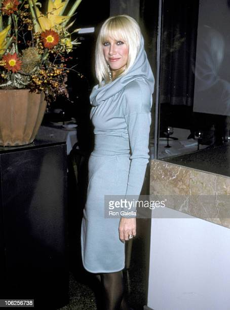 Suzanne Somers during Suzanne Somers Sighting at Manhattan Ocean Club November 2 1986 at Manhattan Ocean Club in New York City New York United States