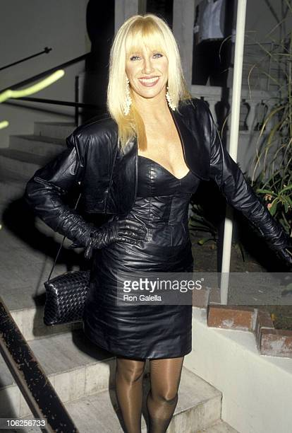 Suzanne Somers during Suzanne Somers Sighting at Spago in West Hollywood October 29 1986 at Spago Restaurant in West Hollywood California United...