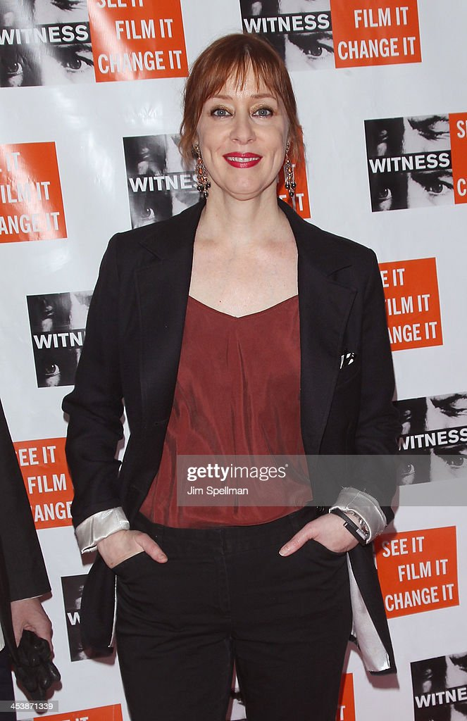 Suzanne Vega attends the 2013 Focus For Change gala benefiting WITNESS at Roseland Ballroom on December 5, 2013 in New York City.