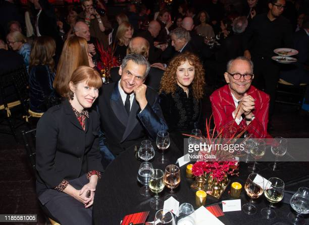 Suzanne Vega Michael Rips Bernadette Peters and Joel Grey attend The Art Students League's 2019 Gala at The Edition Hotel on November 04 2019 in New...