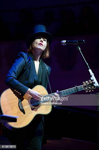 Suzanne Vega performs at Cadogan Hall on October 11 2016 in London England