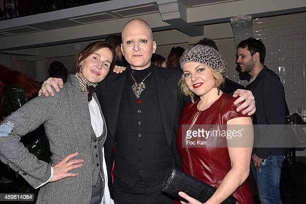 Suzanne von Aichinger Ali Mahdavi and Sophie Guillemin attend the Maison Jean Paul Gaultier Hosts 'Le Projet ICCARRE Association' Against AIDS at 325...