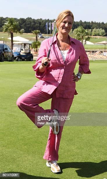 Suzanne von Borsody 6 GRK Golf Charity Masters Golf Country Club Leipzig Machern bei Leipzig Sachsen Deutschland Europa Benefiz Golfplatz...
