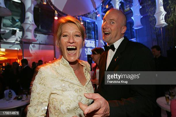 Suzanne Von Borsody And friend Jens Schniedenharn At The After Show Party The 40th The award Golden Camera Am In The Ullsteinhalle Of Axel Springer...