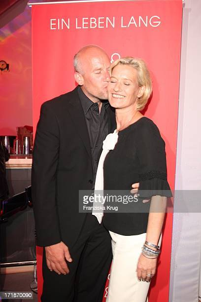 "Suzanne von Borsody And Jens Schniedenharn In The ""Platinum Engagement Ring Store Opening Party for 10 Marrying"" in Erfurt"