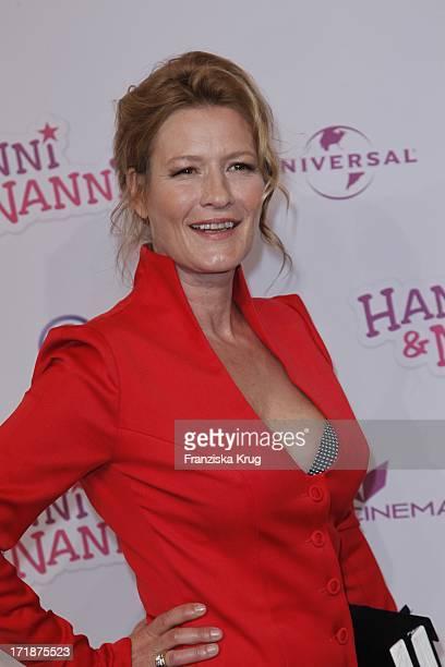 Suzanne von Borsody at The 'Hanni and Nanni' movie premiere in Mathäser movie palace in Munich