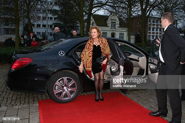 Suzanne von Borsody attends the 51th Grimme Award at Theater der Stadt on March 27 2015 in Marl Germany