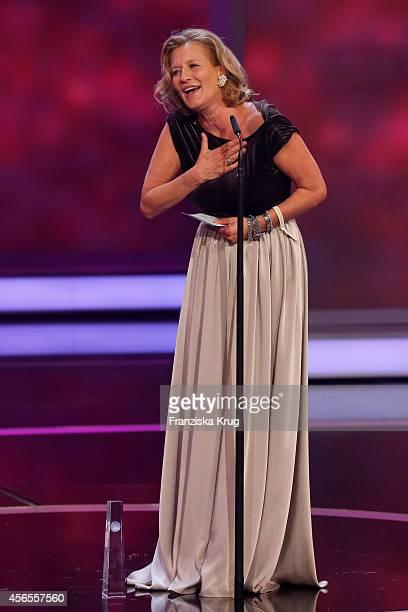Suzanne von Borsody attends the Deutscher Fernsehpreis 2014 show on October 02 2014 in Cologne Germany