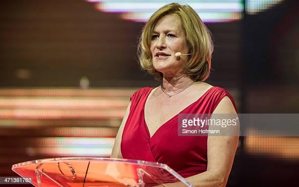 Suzanne von Borsody attends the Radio Regebenbogen Award Show 2015 at Europapark on April 24 2015 in Rust Germany