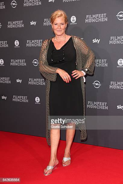Suzanne von Borsody during the opening night of the Munich Film Festival 2016 at Mathaeser Filmpalast on June 23 2016 in Munich Germany
