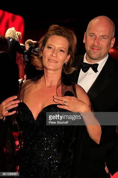 Suzanne von Borsody Lebensgefährte Jens Schniedenharn 20 Verleihung Hessischer Film und Kinopreis 2008 Alte Oper Frankfurt Hessen Deutschland Europa...