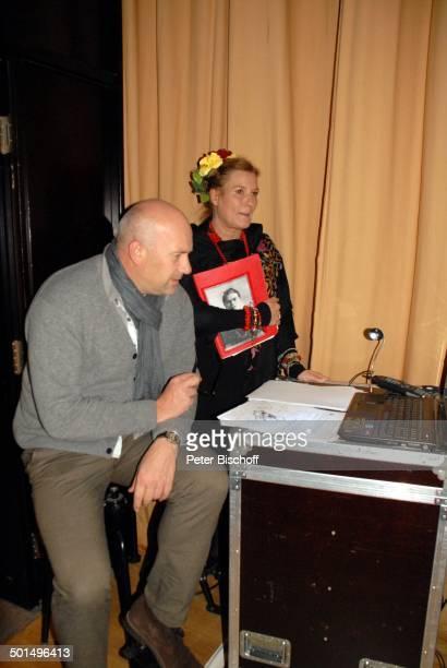 Suzanne von Borsody Lebensgefährte Jens Schniedenharn Musikalische Lesung Frida Kahlo Konzerthaus Glocke Bremen Deutschland Europa Bühne...