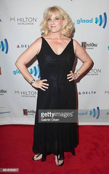 Suzanne Westenhoefer arrives to the 25th Annual GLAAD Media Awards Dinner and Show on April 12 2014 in Los Angeles California