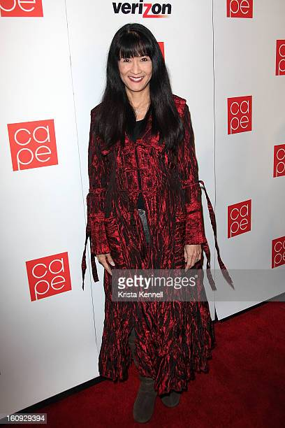 Suzanne Whang arrives to the Mnet America's 1st Annual Pre-GRAMMY party to celebrate K-Pop's 2012 breakthrough at East West Recording Studio on...