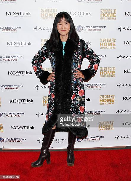 Suzanne Whang attends a screening for 'Searching For Home: Coming Back From War' at ArcLight Sherman Oaks on November 2, 2015 in Sherman Oaks,...