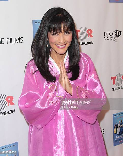 """Suzanne Whang attends """"Weekend With The Family"""" - Los Angeles Premiere on March 30, 2016 in Los Angeles, California."""