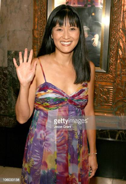 """Suzanne Whang during """"Dirty Rotten Scoundrels"""" Los Angeles Premiere Performance - Arrivals at Pantages Theatre in Hollywood, California, United..."""
