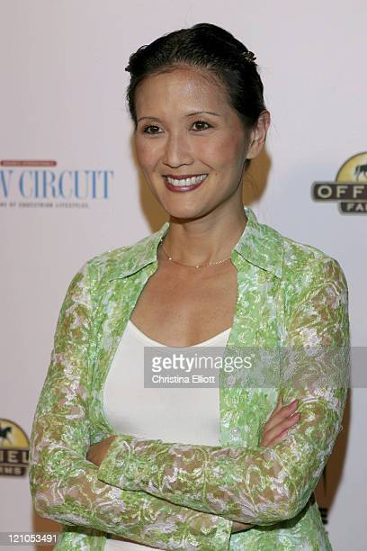 Suzanne Whang during The Equestrian AIDS Foundation's 2nd Las Vegas Benefit at Hard Rock Hotel and Casino in Las Vegas, Nevada, United States.