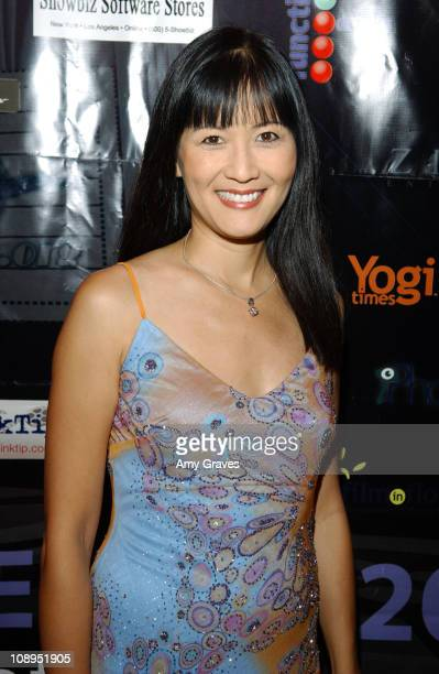 Suzanne Whang during Zimand Entertainment Gala at the LaFemme Film Festival at Wilshire Theatre in Beverly Hills, California, United States.