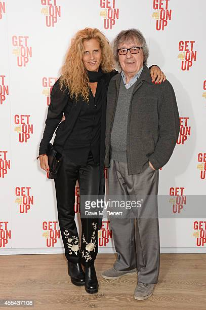 Suzanne Wyman and Bill Wyman attend a special screening of 'Get On Up' at The Ham Yard Hotel on September 14 2014 in London England